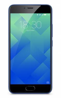 "Смартфон Meizu M5 MH611 16Gb синий моноблок 3G 4G 2Sim 5.2"" IPS 720x1280 And6.0 13Mpix 802.11abgnac"