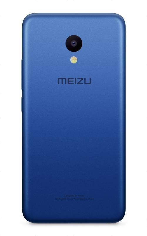 Смартфон Meizu M5 MH611 16ГБ синий - фото 2