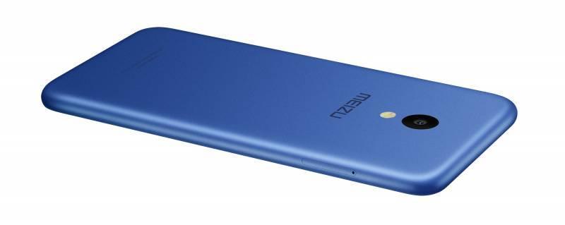 Смартфон Meizu M5 MH611 16ГБ синий - фото 3