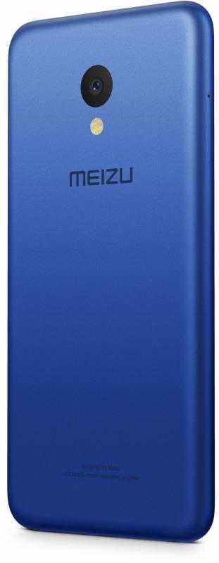 Смартфон Meizu M5 MH611 16ГБ синий - фото 6