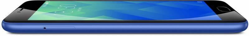 Смартфон Meizu M5 MH611 32ГБ синий - фото 7
