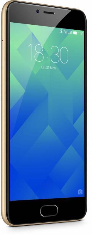 Смартфон Meizu M5 MH611 32ГБ золотистый (M611H_32GB_GOLD) - фото 1