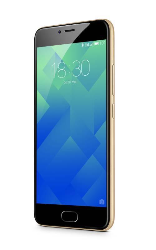 Смартфон Meizu M5 MH611 32ГБ золотистый - фото 2