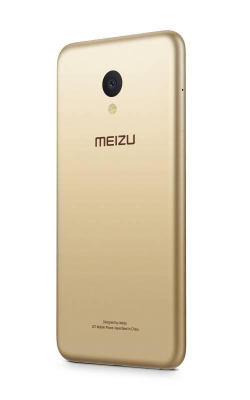 Смартфон Meizu M5 MH611 32ГБ золотистый (M611H_32GB_GOLD) - фото 3
