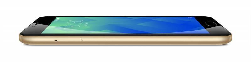 Смартфон Meizu M5 MH611 32ГБ золотистый - фото 4