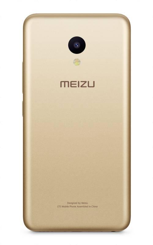 Смартфон Meizu M5 MH611 32ГБ золотистый (M611H_32GB_GOLD) - фото 6