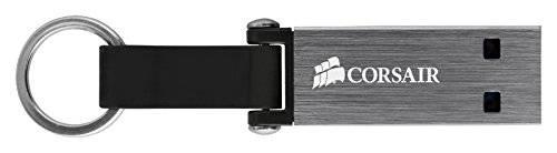 Флеш диск Corsair Voyager Mini 128ГБ USB3.0 черный/серый (CMFMINI3-128GB) - фото 2