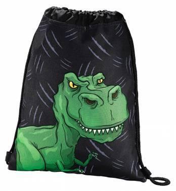 Сумка для обуви Hama Dino черный / зеленый