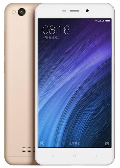 Смартфон Xiaomi Redmi 4A 16ГБ золотистый - фото 1