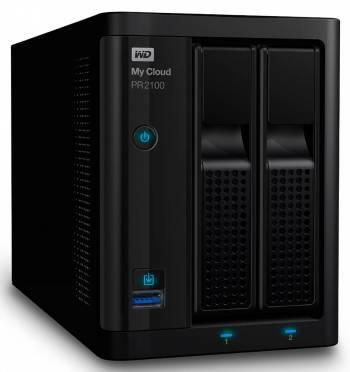 Сетевое хранилище NAS WD WDBVND0000NBK-EEUE