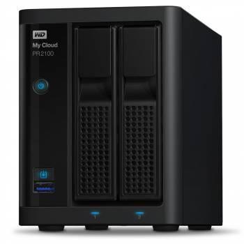 Сетевое хранилище NAS WD 8Tb WDBVND0080JBK-EEUE