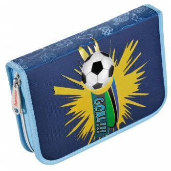 Пенал Hama 139119 Футбол 1отд. полиэстер