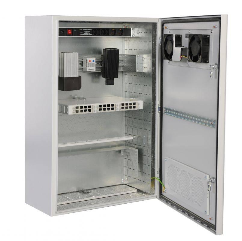 Шкаф коммутационный ЦМО ШТВ-Н-6.6.5-4ААА 6U серый - фото 1