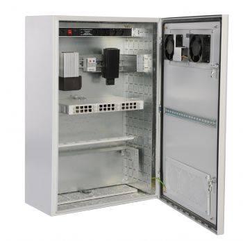 Шкаф настенный ЦМО ШТВ-Н-6.6.5-4ААА 6U серый