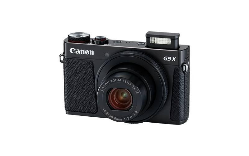 Фотоаппарат Canon PowerShot G9 X Mark II черный (1717C002) - фото 3