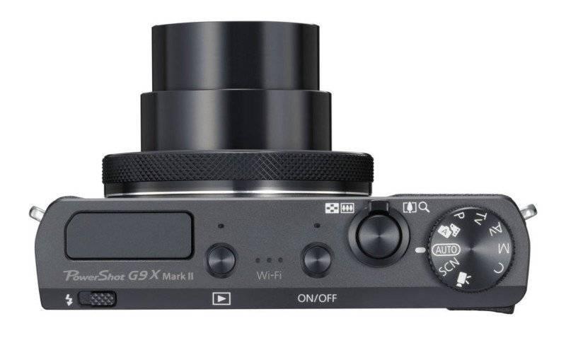 Фотоаппарат Canon PowerShot G9 X Mark II черный (1717C002) - фото 5