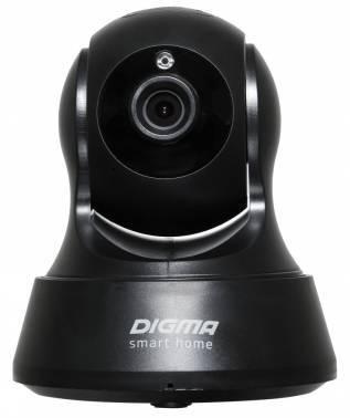 Видеокамера IP Digma DiVision 200 черный