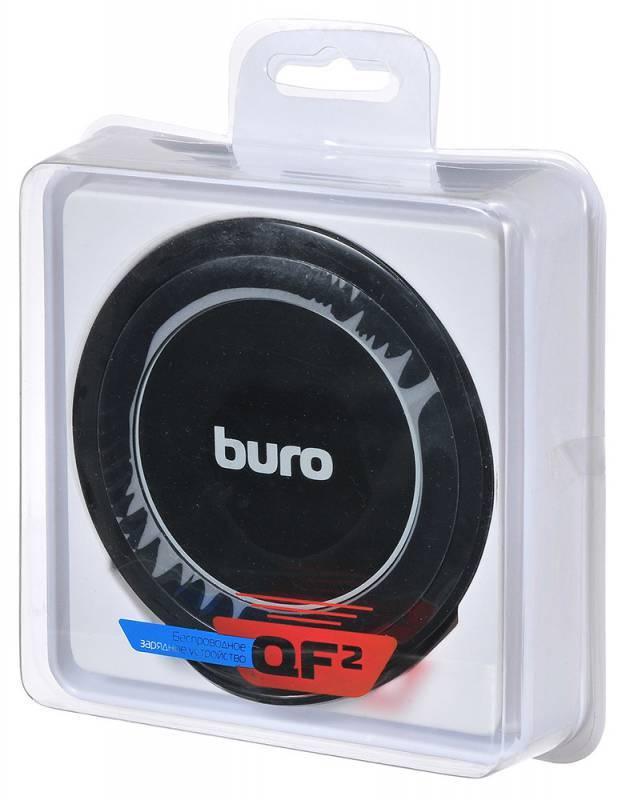 Беспроводное зар./устр. Buro QF2 QC3.0 черный - фото 7
