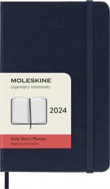 Ежедневник Moleskine CLASSIC DAILY POCKET синий сапфир