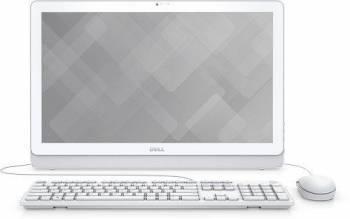 Моноблок Dell Inspiron 3264 белый, диагональ экрана 21.5, разрешение 1920x1080, процессор Intel Core i3 7100U 2.4ГГц, оперативная память 4Gb DDR4, жесткий диск 1Tb, видеокарта Intel HD Graphics 620, DVDRW, Windows 10 Professional 64-bit Single Language,
