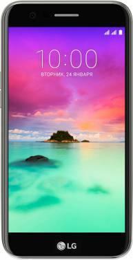Смартфон LG K10 (2017) M250 16ГБ титан (LGM250.ACISTN)