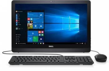 Моноблок Dell Inspiron 3264 черный, диагональ экрана 21.5, разрешение 1920x1080, процессор Intel Core i3 7100U 2.4ГГц, оперативная память 4Gb DDR4, жесткий диск 1Tb, видеокарта Intel GeForce 920MX, DVDRW, Windows 10 Home 64-bit Single Language, Eth, WiFi