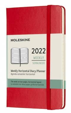 Еженедельник Moleskine Classic WKLY красный (DHF212WH2)