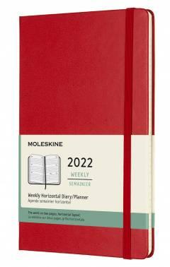 Еженедельник Moleskine CLASSIC WKLY красный (DHF212WH3)