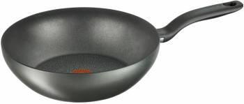 Сковорода ВОК (WOK) Tefal Hard Titanium+ C6921902 черный (2100096664)