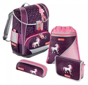 Ранец Step By Step Light2 Unicorn бордовый/розовый (00138503)