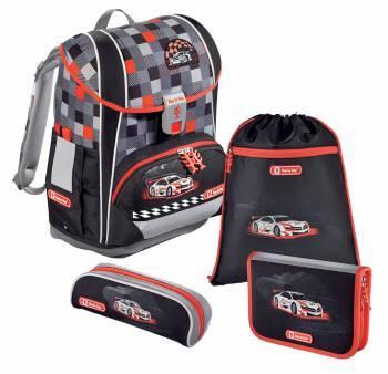 Ранец Step By Step Light2 Racer серый/черный/красный (00138512)