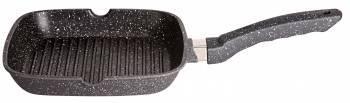 Сковорода-гриль Supra Katai SAD-K2424G прямоугольная руч.:несъемная (без крышки) темно-серый
