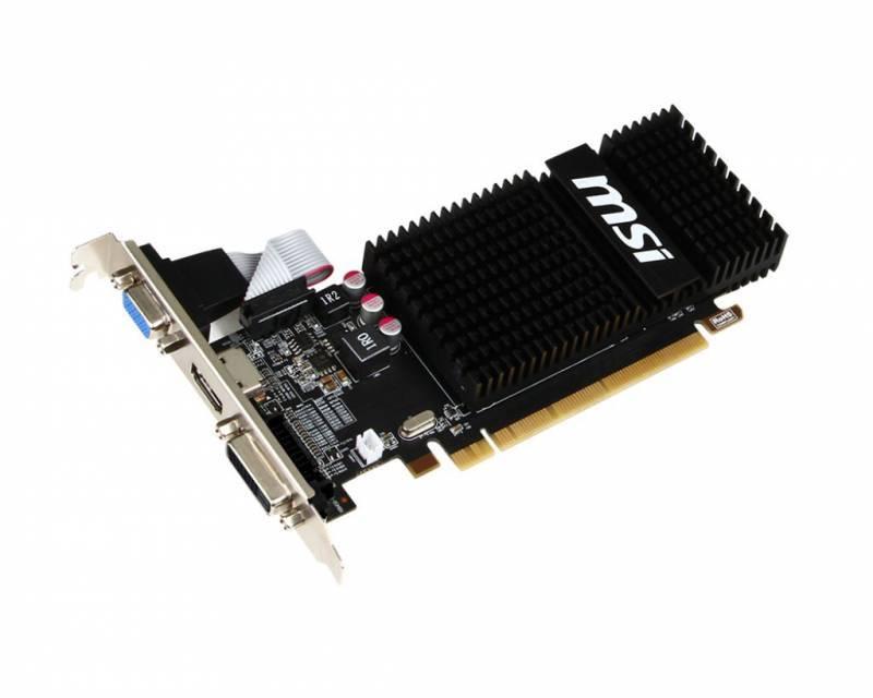 Видеокарта MSI Radeon R5 230 1GD3H LP 1024 МБ (R5 230 1GD3H LP) - фото 2