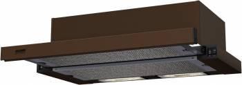 Встраиваемая вытяжка Krona Kamilla 600 коричневый (20610)
