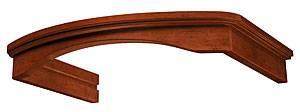 Комплект багетов Krona Gretta 600 CPB/3 орех темный, в комплекте 1шт. (14955)