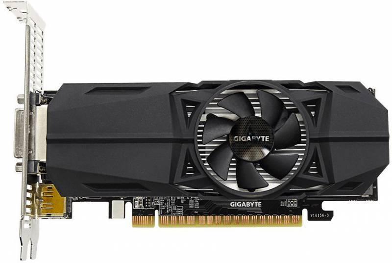 Видеокарта Gigabyte GeForce GTX 1050 OC 2G 2048 МБ (GV-N1050OC-2GL) - фото 1