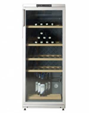 Винный шкаф Атлант ХТ 1008 серебристый
