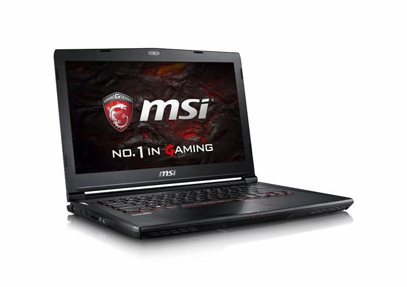 "Ноутбук MSI GS43VR 7RE(Phantom Pro)-201RU, Windows 10, процессор Intel Core i7 7700HQ, оперативная память 16Gb, жесткий диск 1Tb, накопитель SSD 256Gb, видеокарта nVidia GeForce GTX 1060 6Gb, диагональ 14"", 1920x1080, черный (9S7-14A332-201) - фото 3"