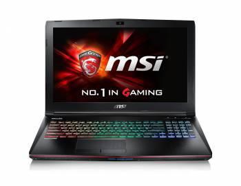 Ноутбук 15.6 MSI GE62VR 7RF(Apache Pro)-498RU черный
