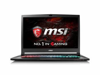 Ноутбук 17.3 MSI GS73VR 7RF(Stealth Pro)-280RU черный