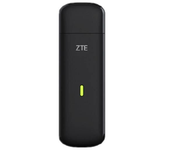 Модем 2G/3G/4G ZTE MF823D USB черный - фото 1