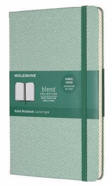 Блокнот Moleskine Limited Edition BLEND Large зеленый (LCBD02QP060K)
