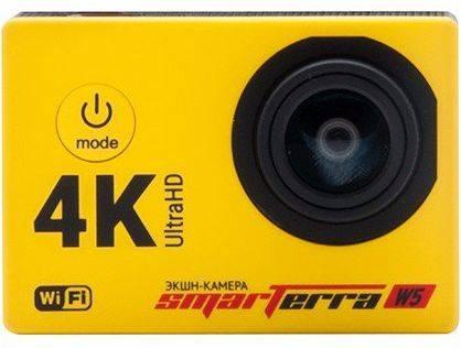Экшн-камера Smarterra W5 желтый - фото 1