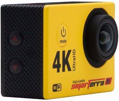 Экшн-камера Smarterra W5 желтый - фото 2