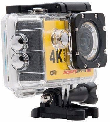 Экшн-камера Smarterra W5 желтый - фото 5