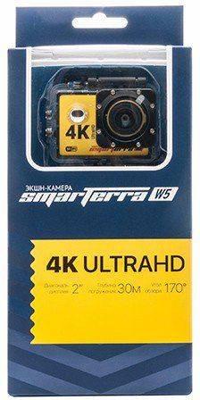 Экшн-камера Smarterra W5 желтый - фото 6
