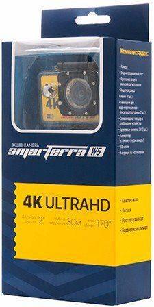 Экшн-камера Smarterra W5 желтый - фото 7
