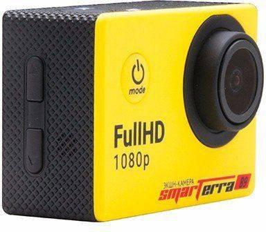 Экшн-камера Smarterra B9 желтый - фото 2