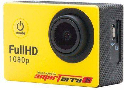 Экшн-камера Smarterra B9 желтый - фото 3