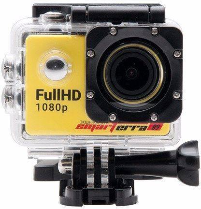 Экшн-камера Smarterra B9 желтый - фото 4